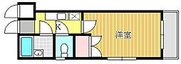 ユーコート八王子[111号室]の間取り