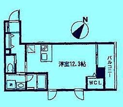 ティアラ向ヶ丘[3階]の間取り