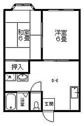 ストークフォーレスト J棟[2階]の間取り