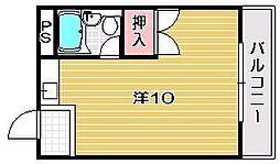 レジデンス曽根田[1階]の間取り