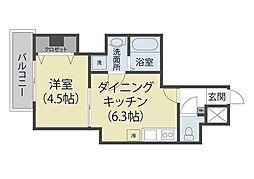仮)芝新町ヒルズマンション225[602号室]の間取り