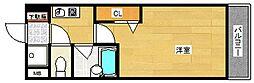 プルメリア玉出[6階]の間取り