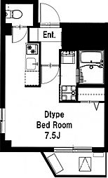 b'CASA 練馬[4階]の間取り