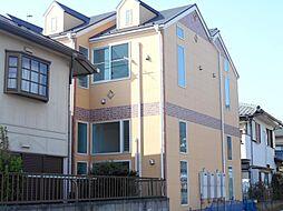 神奈川県川崎市中原区井田杉山町の賃貸アパートの外観