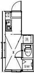 サークルハウス浮間壱番館[1階]の間取り