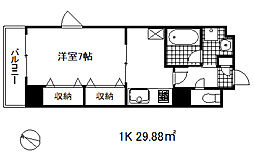 タカマツ神戸駅南通[6階]の間取り