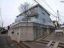東京都三鷹市中原2丁目の賃貸アパートの外観