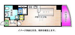 KATAYAMA BLDG21[601号室]の間取り