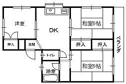 田島ハイツ_[2階]の間取り