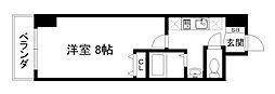 京都烏丸保粋ビル[6階]の間取り