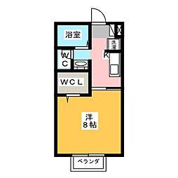 グランモア[2階]の間取り