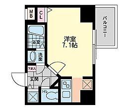 S-RESIDENCE難波Briller[12階]の間取り