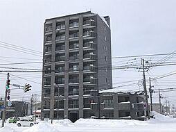 北海道旭川市六条西1丁目の賃貸マンションの外観
