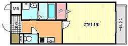ラ・グラシューズ[3階]の間取り