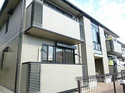 愛知県名古屋市天白区梅が丘5丁目の賃貸アパートの外観