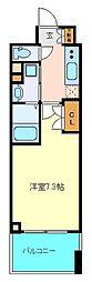 仙台市営南北線 勾当台公園駅 徒歩9分の賃貸マンション 13階1Kの間取り