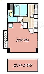 クレスト黒崎[501号室]の間取り