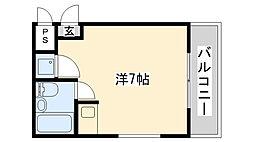ダイドーメゾン上甲子園[105号室]の間取り