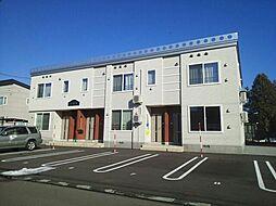 北海道旭川市永山八条20丁目の賃貸アパートの外観