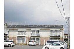 愛知県岡崎市赤渋町字上河原の賃貸アパートの外観