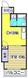 深沢ビル[3階]の間取り
