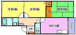 ソシア小泉III[1階]の間取り