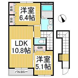 マロン ハウス[2階]の間取り
