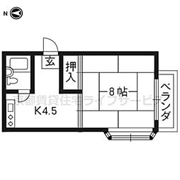BOX HOUSE[301号室]の間取り
