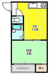 第5大丸マンション[203号室]の間取り