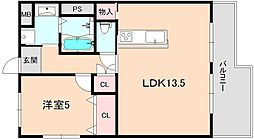 Ikeda Mansion[505号室]の間取り