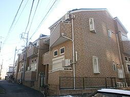 埼玉県所沢市寿町の賃貸アパートの外観