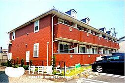 兵庫県伊丹市東野7丁目の賃貸アパートの外観