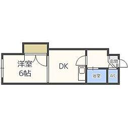 カサデ南郷[2階]の間取り