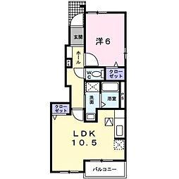 アトラクティブ ハウス[1階]の間取り