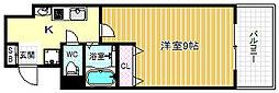 ルミナール海老江[2階]の間取り