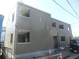 埼玉県鴻巣市逆川1丁目の賃貸アパートの外観