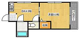 ハイムヤマウチ[3階]の間取り