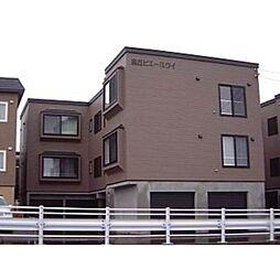 北海道札幌市手稲区富丘二条4丁目の賃貸アパートの外観