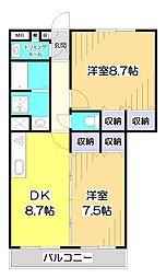 KOUJIYA七番館〜コウジヤ ナナバンカン〜[3階]の間取り
