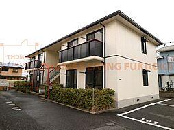 福岡県遠賀郡水巻町猪熊7丁目の賃貸アパートの外観
