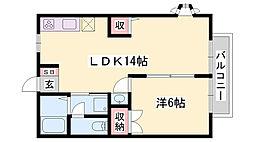 土山駅 4.5万円