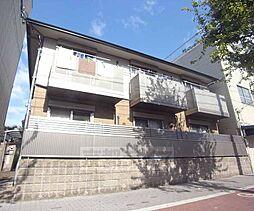 京都府京都市左京区下鴨高木町の賃貸アパートの外観