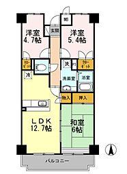 サンシャイン湘南[2階]の間取り