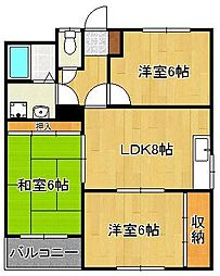 黒崎駅 4.5万円