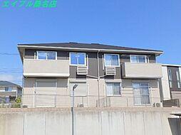 三重県桑名市多度町小山の賃貸アパートの外観