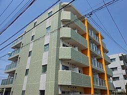 東京都三鷹市井口4丁目の賃貸マンションの外観