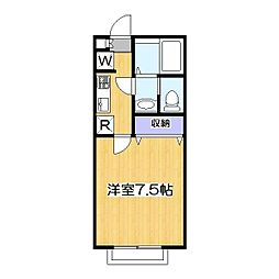 リリックコートSERENA 6[2階]の間取り
