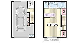 山陽電鉄本線 亀山駅 徒歩15分の賃貸アパート