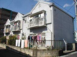 大阪府四條畷市岡山2丁目の賃貸アパートの外観