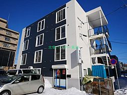 北海道札幌市東区北四十条東16丁目の賃貸マンションの外観